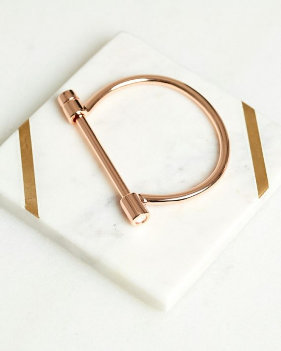 Bar Bangle Ladies Jewelery Colour is Rosegold