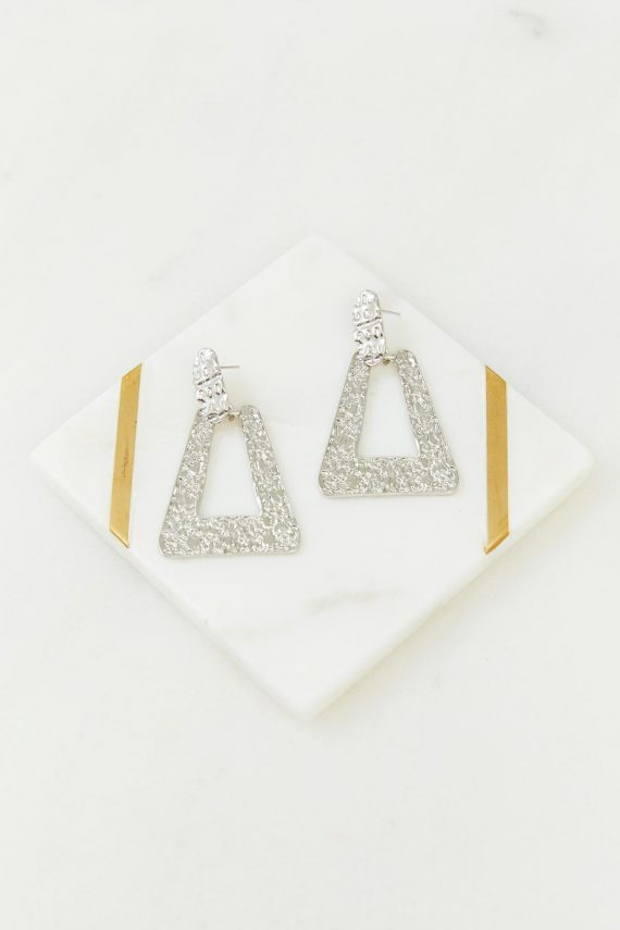 Artefact Earring Ladies Jewelery Colour is Silver