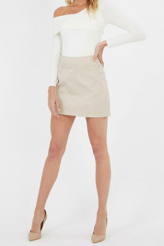 Mastermind Skirt Ladies Skirt Colour is Cream