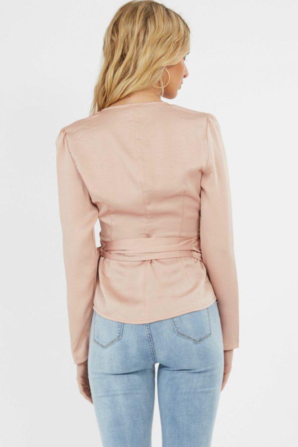 Adriatic Top Ladies Top Colour is Blush