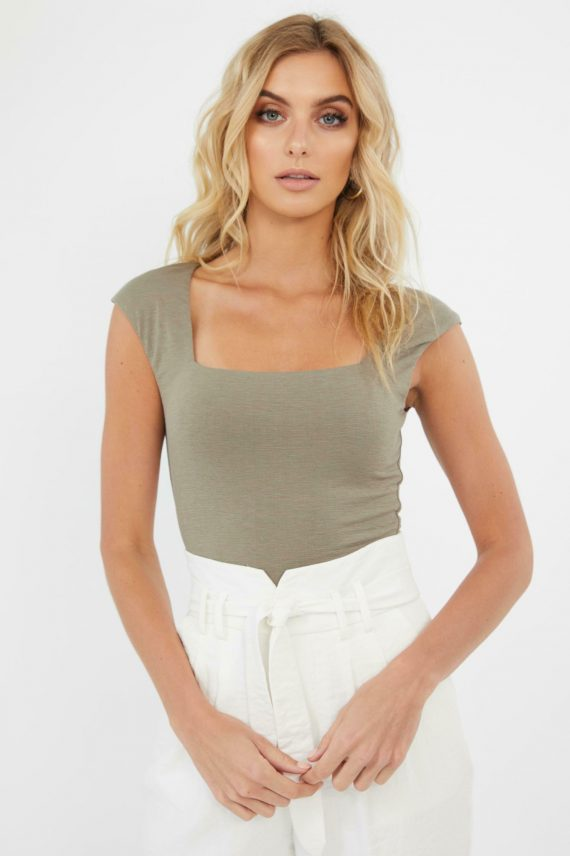 Starla Top Ladies Top Colour is Khaki