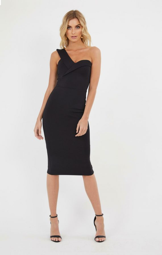 Amalfi Dress Ladies Dress Colour is Black