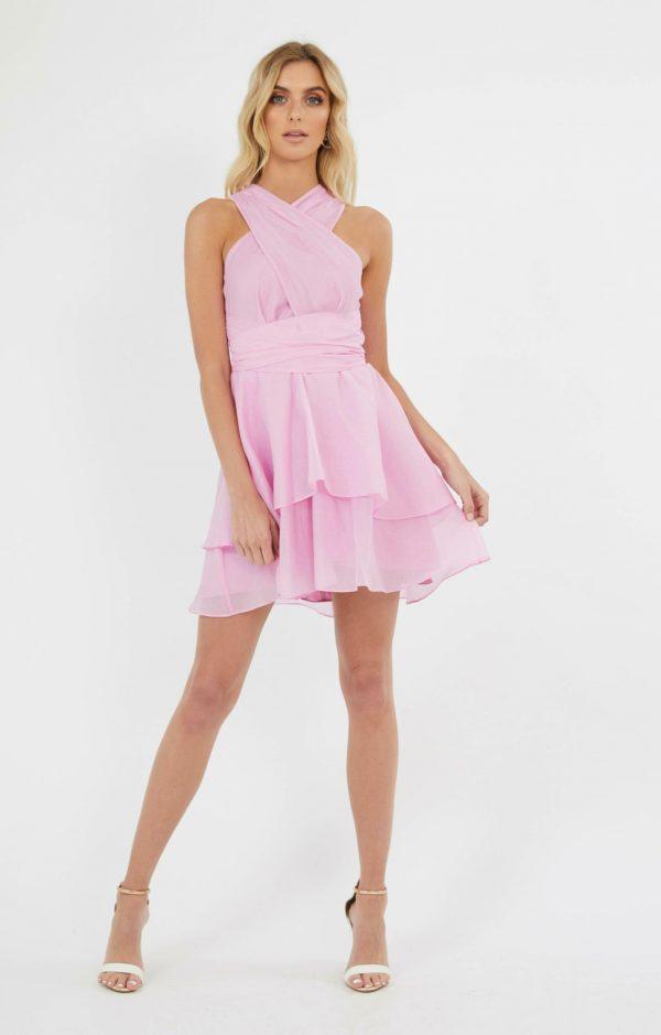 Alexia Dress Ladies Dress Colour is Pink