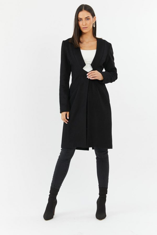 Sweet Pea Jacket Ladies Jacket Colour is Black