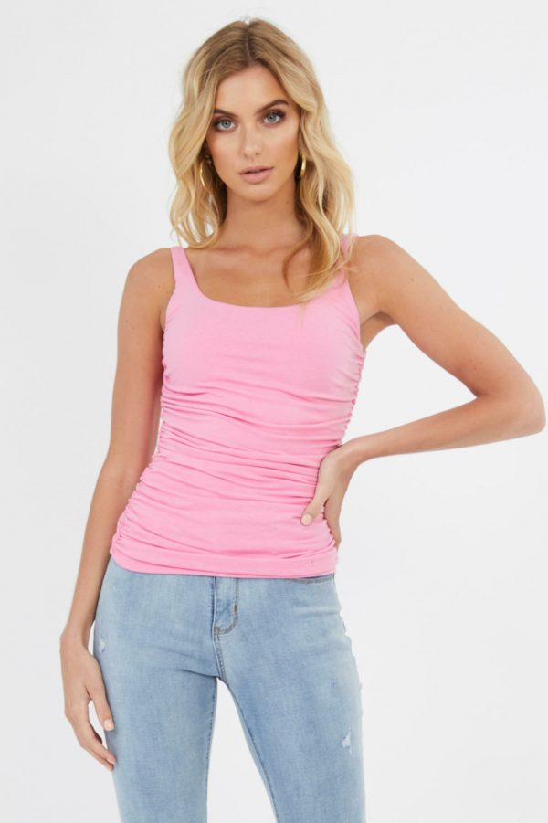 Palermo Top Ladies Top Colour is Pink