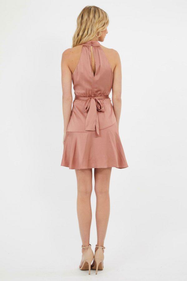 Ravello Dress Ladies Dress Colour is Cafe