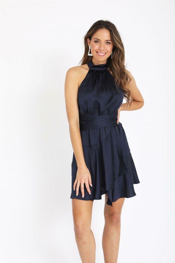 Ravello Dress Ladies Dress Colour is Navy