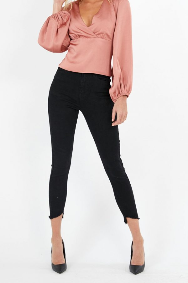 Cosmos Jean Ladies Jeans Colour is Black