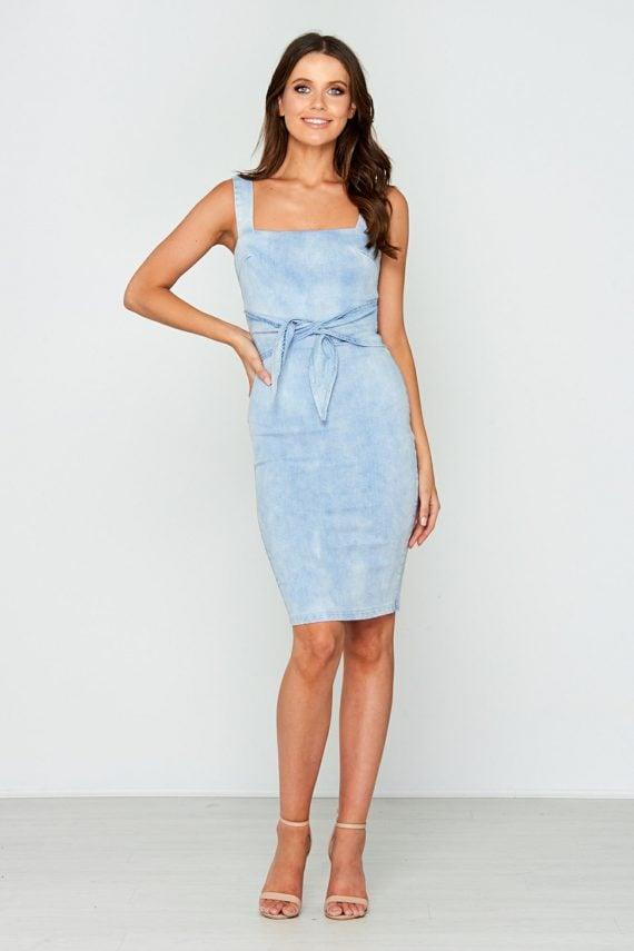 Morning Dress Ladies Dress Colour is Lblu