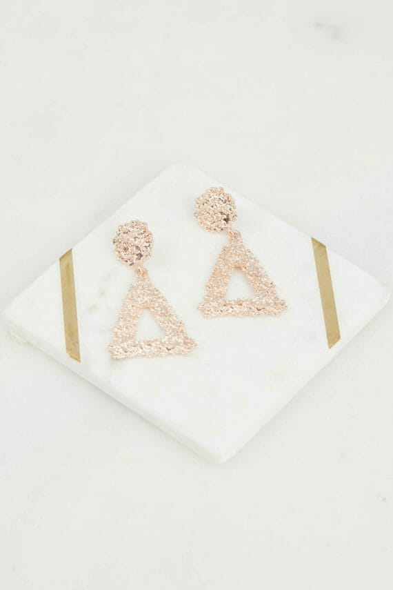 Hayley Earring Ladies Jewelery Colour is Rose Gold