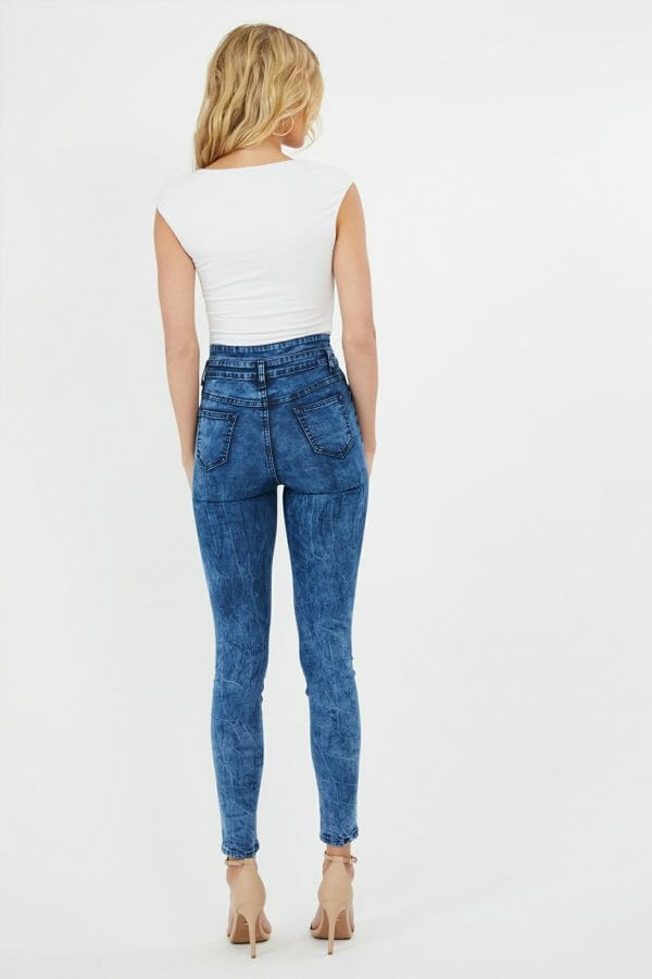 Mystify Jean Ladies Jeans Colour is Dblu