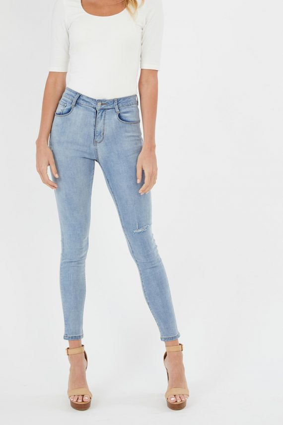 Paradox Jean Ladies Jeans Colour is Blue