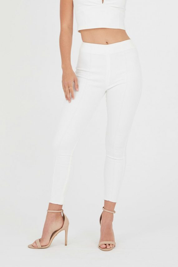 Castara Jean Ladies Dress Colour is White