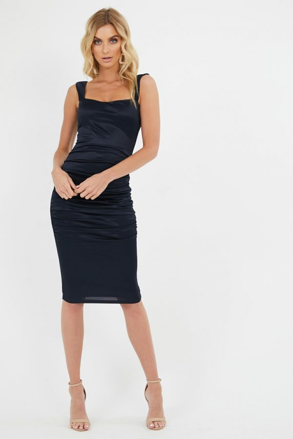 Dolce Dress Ladies Dress Colour is Navy