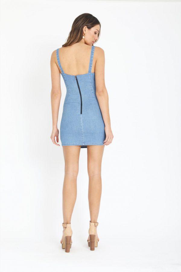 Marbella Dress Ladies Dress Colour is Blue