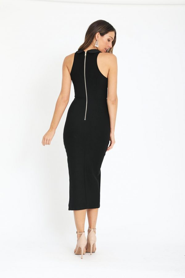 Fontana Dress Ladies Dress Colour is Black