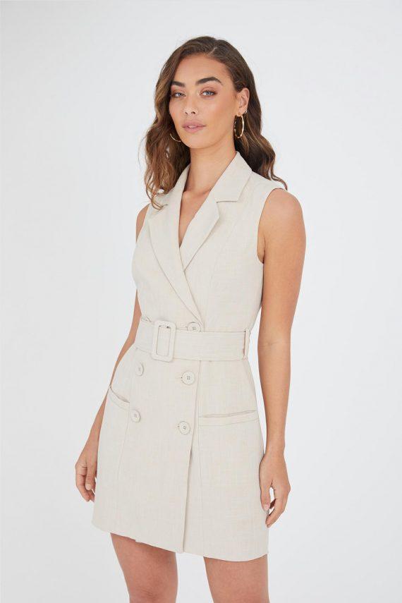 Bonaire Dress Ladies Dress Colour is Beige