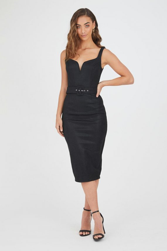 Acapulco Dress Ladies Dress Colour is Black