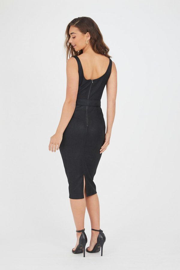 Acapulco Dress Ladies Dress Colour is Black