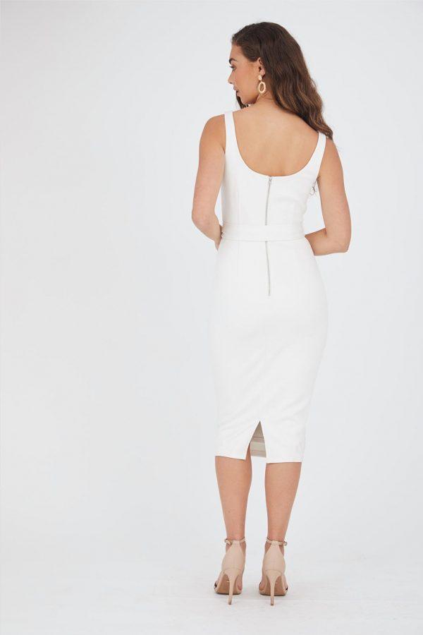 Acapulco Dress Ladies Dress Colour is White