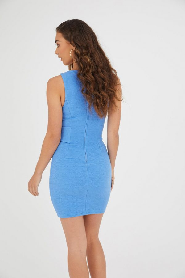 Bahia Dress Ladies Dress Colour is Blue