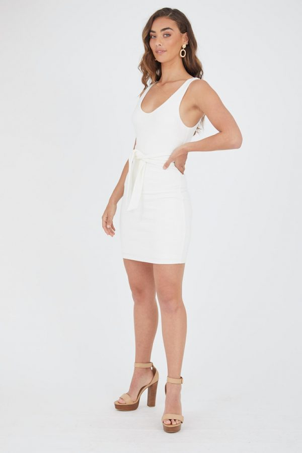 Bahia Dress Ladies Dress Colour is White