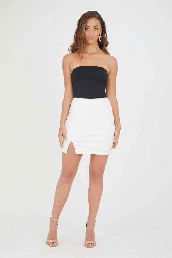 Acapulco Skirt Ladies Skirt Colour is White