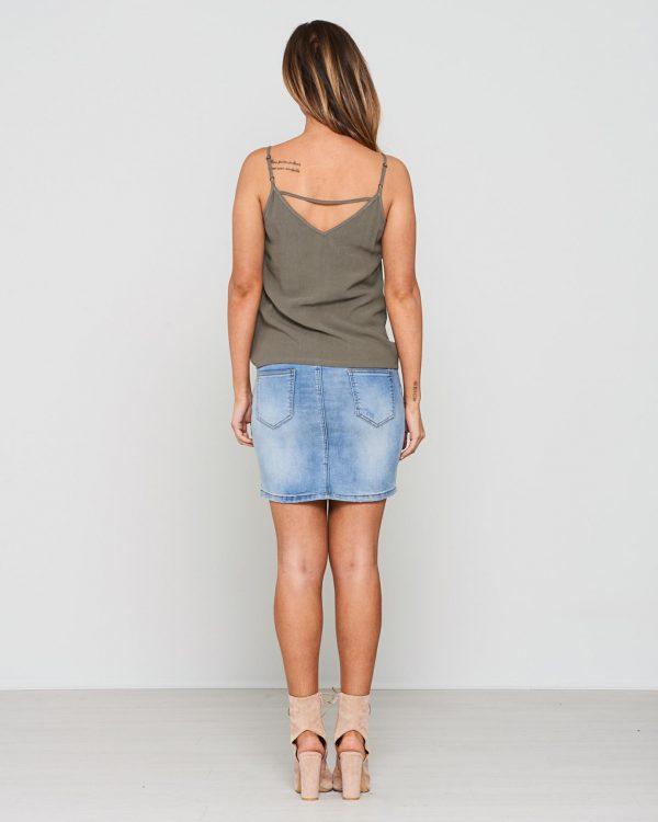 Elysium Skirt Ladies Skirt Colour is Blue