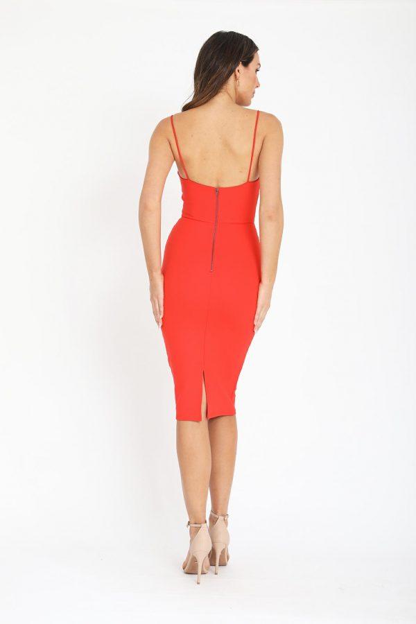 Senara Dress Ladies Dress Colour is Orange