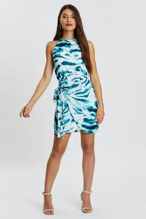 Ocean Tide Dress Ladies Dress Colour is Ocean Tide Print