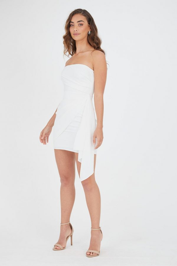 Rio Dress Ladies Dress Colour is White