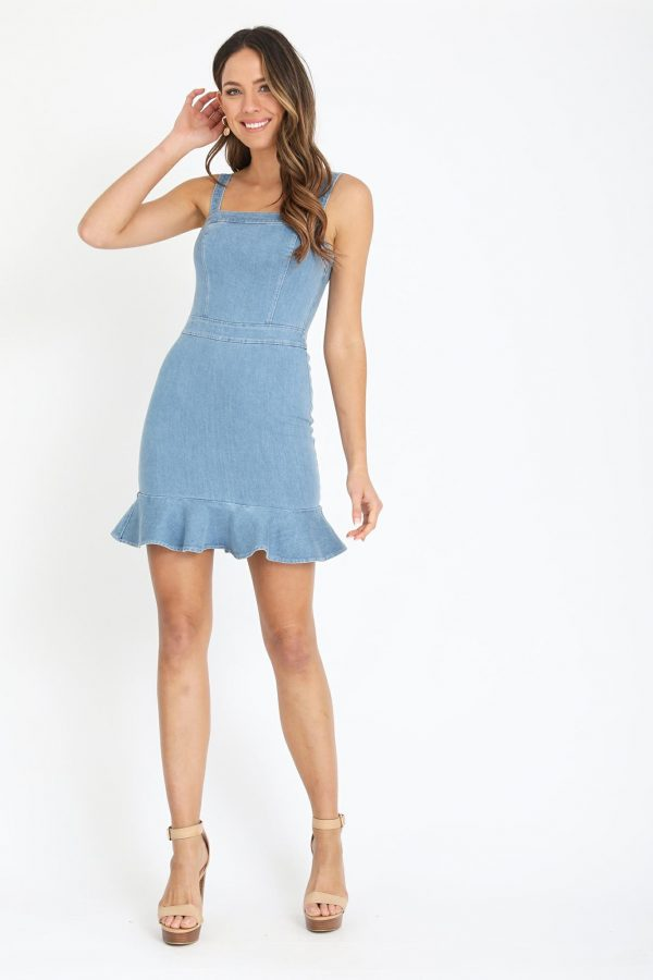 Ravenna Dress Ladies Dress Colour is Blue