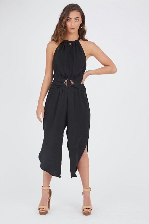 Anatoli Jumpsuit Ladies Jumpsuit Colour is Black