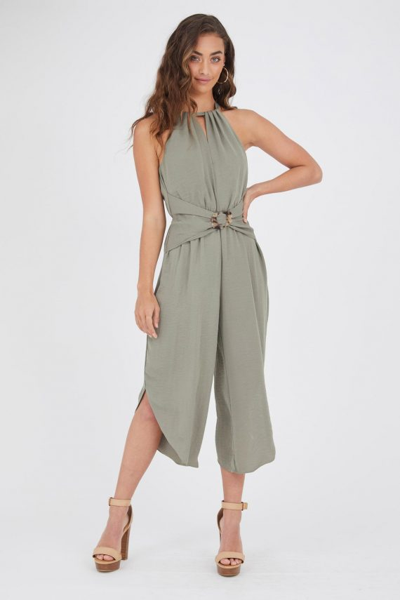 Anatoli Jumpsuit Ladies Jumpsuit Colour is Khaki