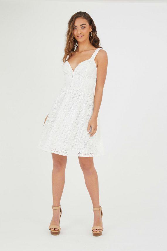 Maracay Dress Ladies Dress Colour is White