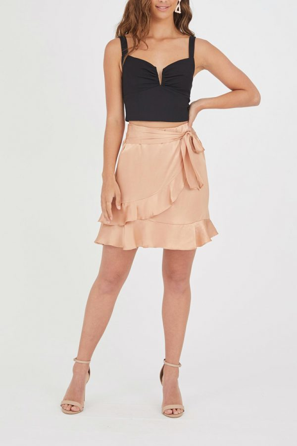 Ventosa Skirt Ladies Skirt Colour is Blush