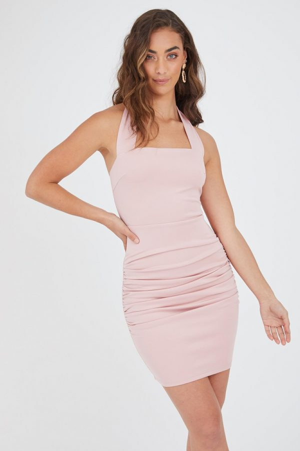 Neiva Dress Ladies Dress Colour is Blush