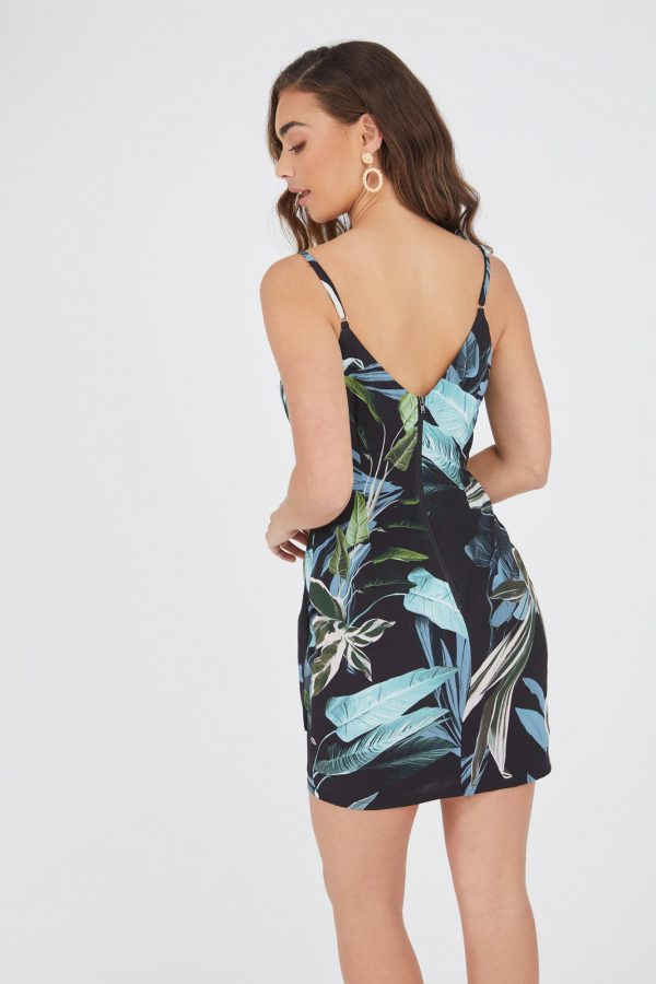 Night Tropic Dress Ladies Dress Colour is Night Tropic Print