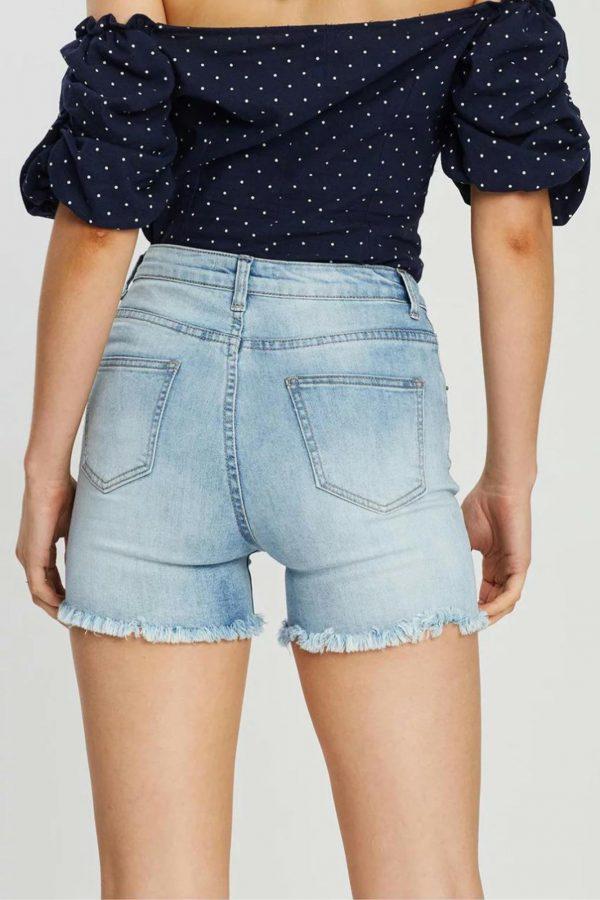 Millenia Short Ladies Shorts Colour is Blue