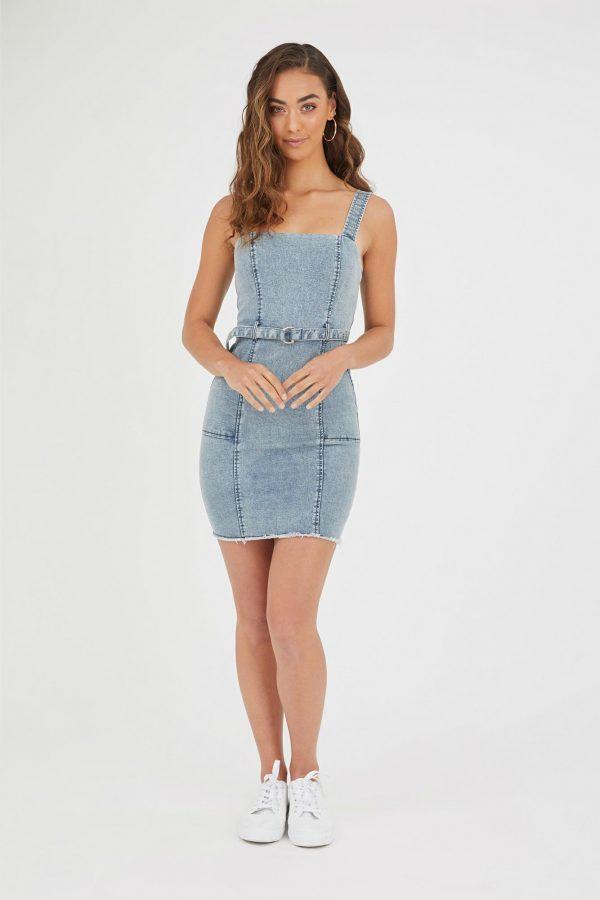 Montanita Dress Ladies Dress Colour is Blue