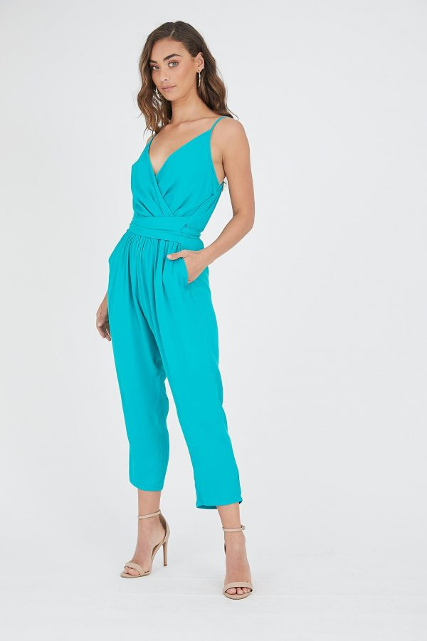 Brazil Jumpsuit Ladies Jumpsuit Colour is Emerald