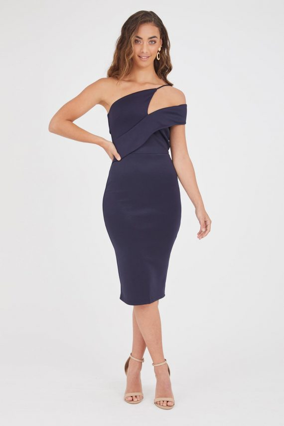 Socorro Dress Ladies Dress Colour is Navy