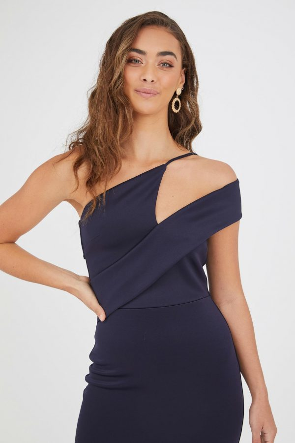 Socorro Dress Ladies Dress Colour is Navy