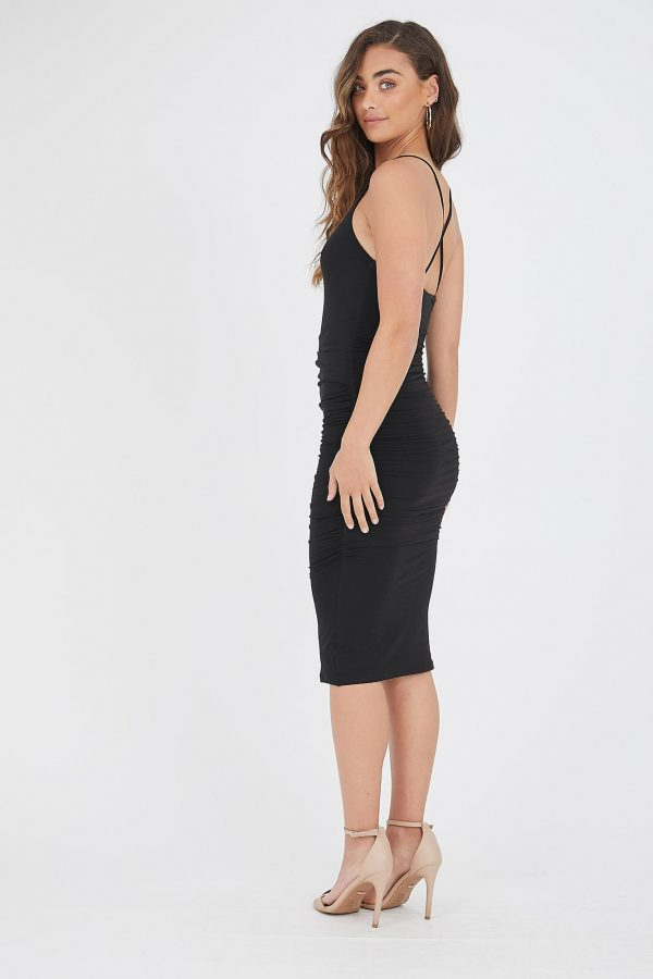 Venado Dress Ladies Dress Colour is Black