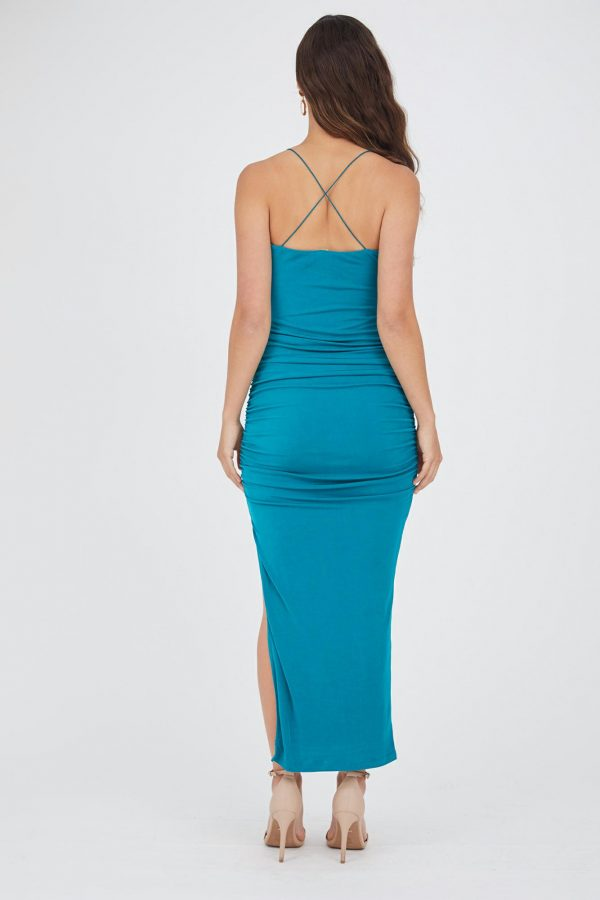 Copacabana Dress Ladies Dress Colour is Emerald