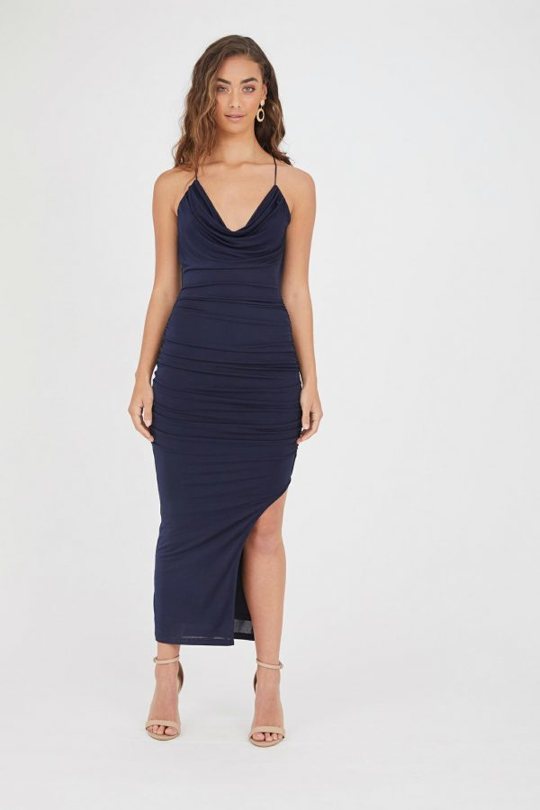 Copacabana Dress Ladies Dress Colour is Navy