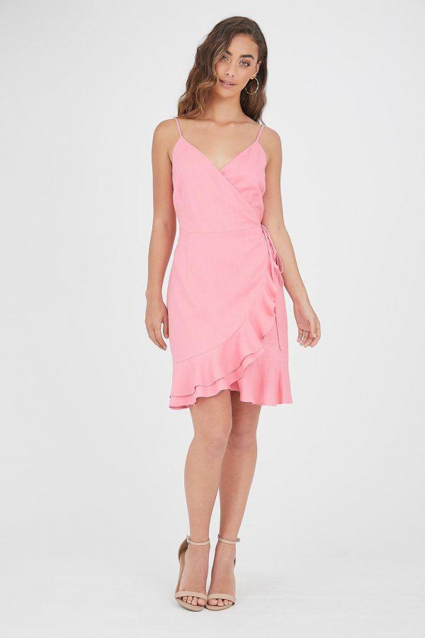 Ferias Dress Ladies Dress Colour is Pink