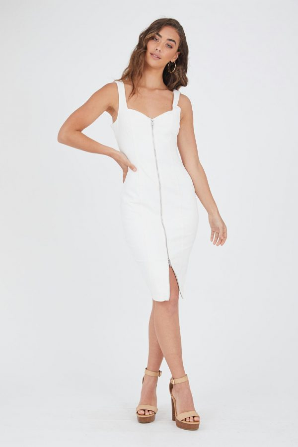 Cirrus Dress Ladies Dress Colour is White