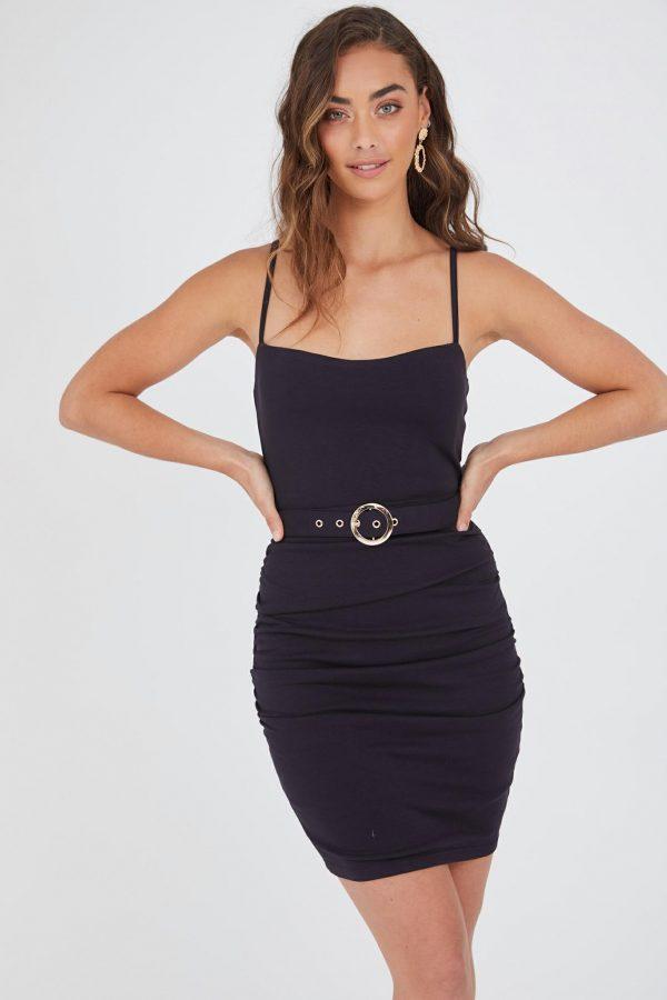 Argentina Dress Ladies Dress Colour is Navy