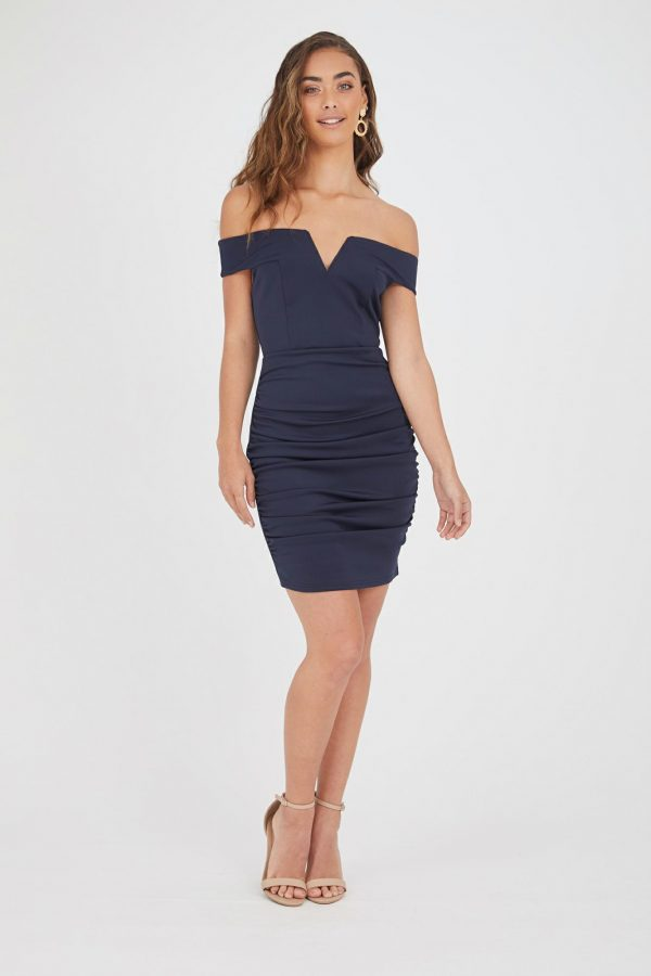 Maderas Dress Ladies Dress Colour is Navy